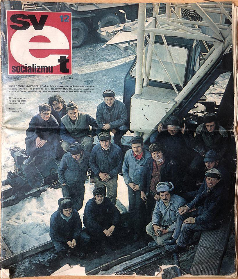 Svet socializmu 12 - Stavbárske predjarie